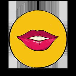 bouche de femme