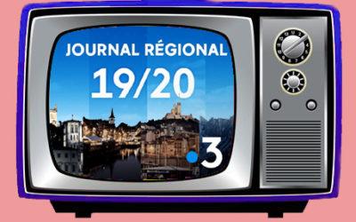 L'BURN au micro de France 3 Nouvelle Aquitaine